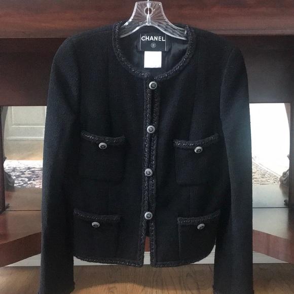 CHANEL Jackets & Blazers - Chanel Tweed Jacket size 38